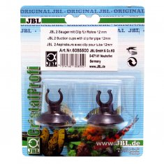 JBL Sugkopp med clips 12mm 2-pack