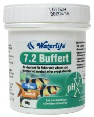Waterlife pH 7,2 Buffer stabilisator (60 g)