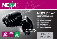 Cirkulationspump Wave 2,7 Newa (2700l/t)