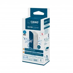 Water Clear Large Ciano