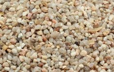 Akvariegrus Natural 2-3mm Deco Quartz (15 kg)