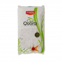 Akvariegrus Snow White 2-3 mm Deco Quartz (3 l)