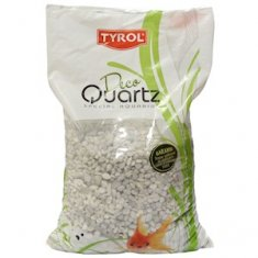 Akvariegrus N15 White Deco Quartz 5-12mm (3 l)