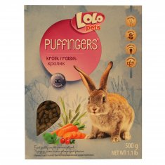 Kaninfoder Puffingers Lolopets (500 g)