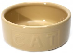 Keramikskål Cat Beige MC (130 mm)