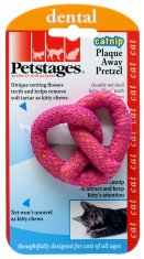 Kattleksak Petstages Plaque Away Pretzel (6,5 cm)
