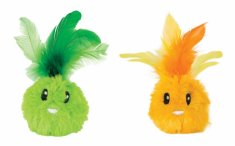 Kattleksak Petstages Feather Bunnies