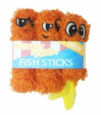 Kattleksak Petstages Fish Sticks