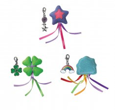 Kattleksak Catnip Charmed Shapes Mix Kong (c.a 8cm)