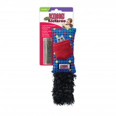 Kattleksak Kickeroo refillable Mix KONG (20 cm)