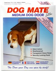 Hunddörr Dog Mate Medium Vit (290x350 mm)