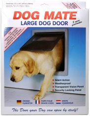 Hunddörr Dog Mate Large Vit (366x441 mm)