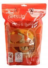 Pets Up Ears & Bones Mix (550 gram)