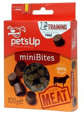 Pets Up Mini Bites Kött (100 gram)