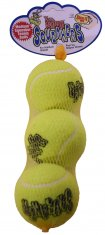 Hundleksak Kong Air Squeaker Tennisboll 3p (d=6cm Medium)