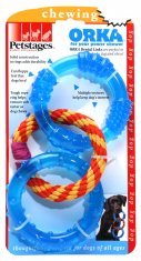 Hundleksak Orka/petstages Dental Links (25cm)