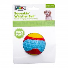 Hundleksak Squeakin Whistler Ball Outward Hound (7 cm)