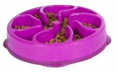 Outward Hound Fun Feeder Mini Lila (20,5x5 cm)