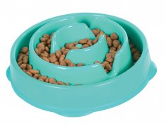 Outward Hound Fun Feeder Mini Oceanblå (20,5x5 cm)
