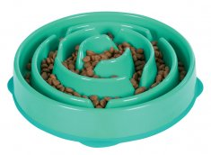 Outward Hound Fun Feeder Oceanblå (28x5 cm)
