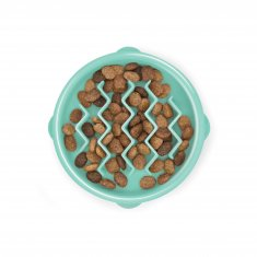 Outward Hound Fun Feeder Tiny Mintgrön (14x3 cm)