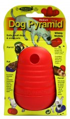 Dog Pyramid Orange Medium Plast Nina Ottosson (11.5cm)
