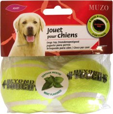 Tennisbollar med mint 2st Large Muzo