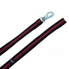 Koppel Supergrip Svart-Cerise Alac (19mm/190cm)