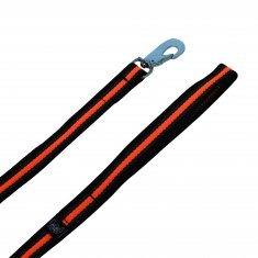 Koppel Supergrip Svart-Orange Alac (19mm/190cm)