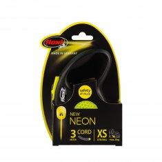 Flexi Neon Reflect XS Snöre (3m/max8kg)