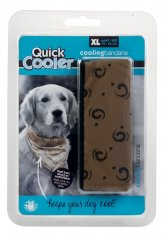 Kylbandana Quick Cooler Brun XL Bee (54-66 cm)