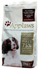 Applaws Hund Adult Chicken/Lamb Small&Medium (2 kg)