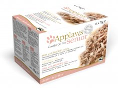 Applaws katt konserv Senior Multimix (6x70g)