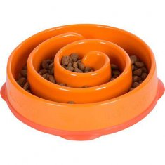 Outward Hound Fun Feeder Small Oragne
