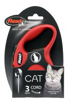 Flexi Cat Mini Röd (3 m max8kg)